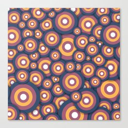 Circle World Canvas Print