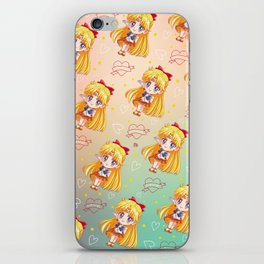 Sailor Venus Pattern iPhone Skin