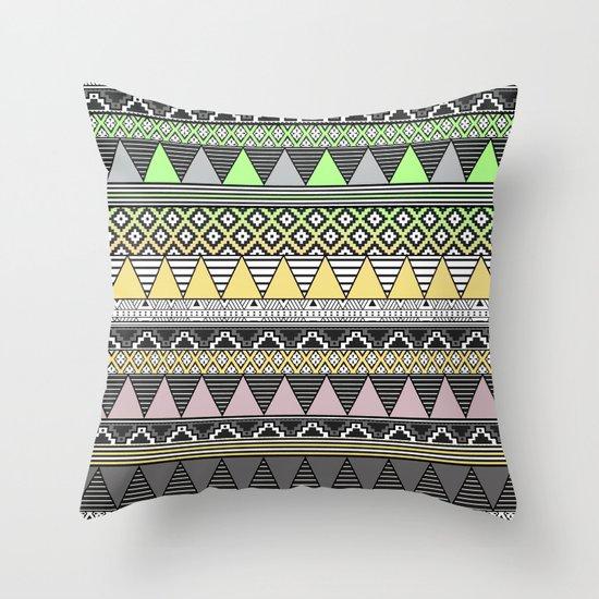CELADON & HANSA YELLOW Throw Pillow