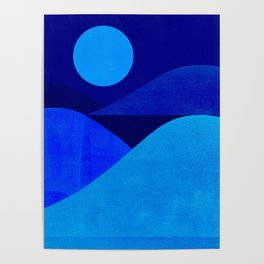 Abstraction_Moonlight Poster