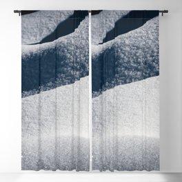 Calm - Winter Snow Drifts - 73/365 Blackout Curtain