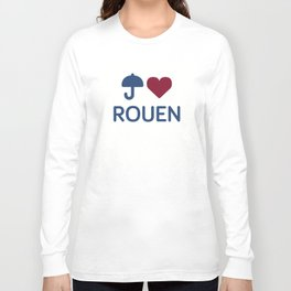 "I ""Love"" Rouen Long Sleeve T-shirt"