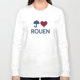 "I ""Love"" Rouen Long Sleeve T-shirt"