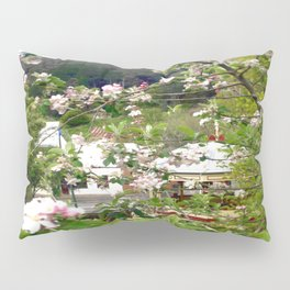 Behind the Flowers! Pillow Sham