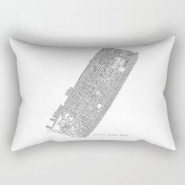 Upper West Side, NY Rectangular Pillow