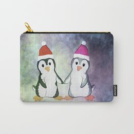 Penguin Love Christmas Carry-All Pouch