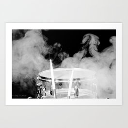 SMOKIN BEAT Art Print