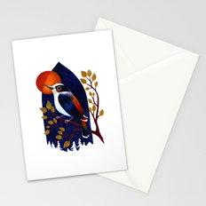 Window Bird Stationery Cards