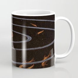 Franz Heinz illustration from Die Rheinlande - 1900 Magical Mermaid Mistical Fish Coffee Mug
