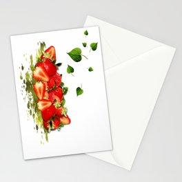 Erdbeeren Stationery Cards