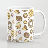 cookies Mugs featuring Cookies ♥ by Martina Marzullo Art