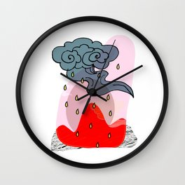 It's a raining day Wall Clock