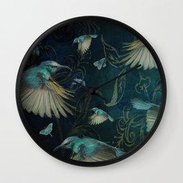 Birds in Paradise Wall Clock