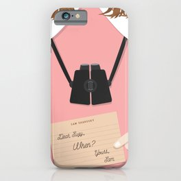Moonrise Kingdom Wes Anderson Inspired Print - Suzy iPhone Case