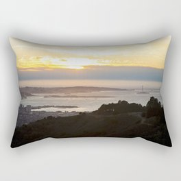 View of the San Francisco Bay Area from Grizzly Peak Rectangular Pillow