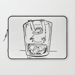 Ape Climbs out of the Whiskey Glass Laptop Sleeve