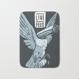 Live Feed Bath Mat