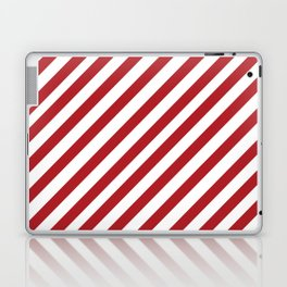Candy Cane - Christmas Illustration Laptop & iPad Skin
