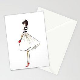 Kate Fashion Illustration Stationery Cards