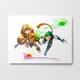 Dragon Nest - Tinkerer x Assassin Metal Print