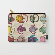 Teapots Carry-All Pouch