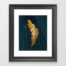 Feed The Tiger (Homage To Sagat) Framed Art Print