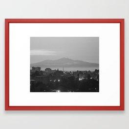 Ethiopan Mountain Framed Art Print