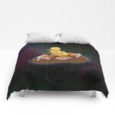 Space Duck Comforters