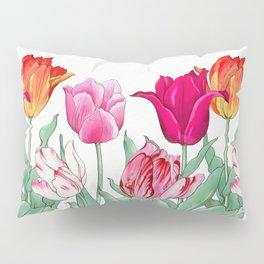 Tulips garden Pillow Sham