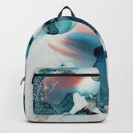 Alien Winds Gold Backpack