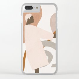 Hold on to me Clear iPhone Case