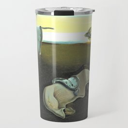Melting Clocks Salvador Dali Fine Art Travel Mug