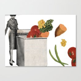 clean eating Canvas Print
