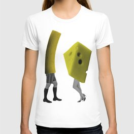 Because she's the cheese and I'm the macaroni T-shirt