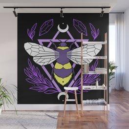 Bee Queen Wall Mural