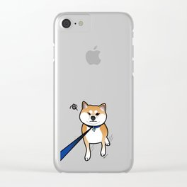 Shiba Inu Says No! Clear iPhone Case