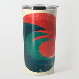 The wild ocean Travel Mug