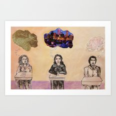Boys Go To Jupiter Art Print