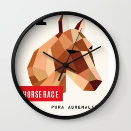 HORSE RACE Wall Clock
