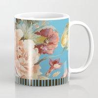 andreas preis Mugs featuring shabby daze by Ariadne