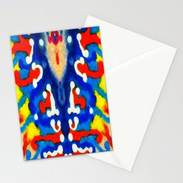 Coral Mirror Effect Stationery Cards