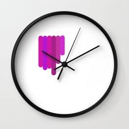 P.U.R.P.L.E Wall Clock
