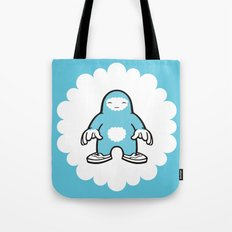 blue gigant Tote Bag