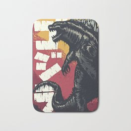 King of the Monsters Bath Mat