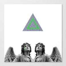 ⊕ Green Angels ⊕ Canvas Print