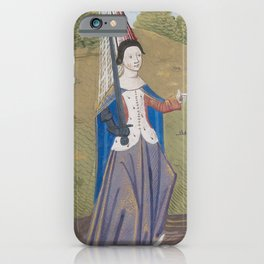 Christine and Justice (Lady Fingerguns) iPhone Case