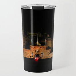 Edinburgh Castle By Night 2 Travel Mug