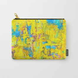 Wildthing - abstraktes Ölgemälde Carry-All Pouch
