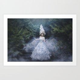 Mystic goddess fine art epic fantasy Art Print