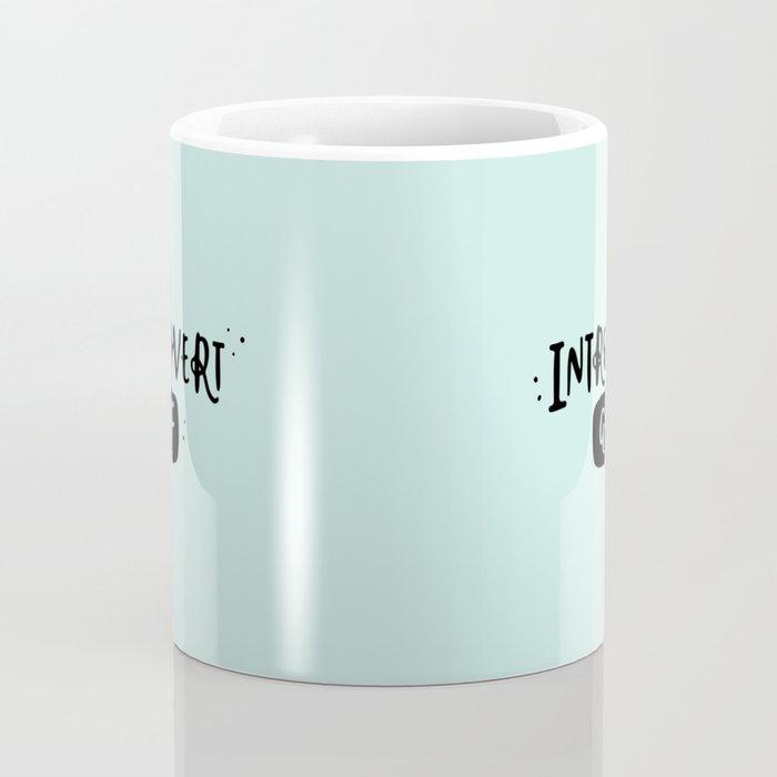 Introvert AF Coffee Mug